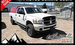 2006 Dodge Ram Pickup 2500 Quad Cab SLT 4WD LOW MILES! SU