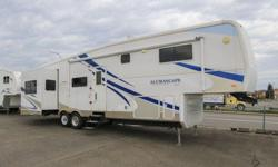 2006 HOLIDAY RAMBLER ALUMASCAPE 36RLQ 5th Wheel