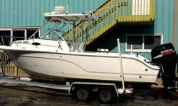 2006 Sea Fox 236 WA 225 Suzuki 4stroke W/Plantation Boat
