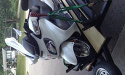 2006 Suzuki Burgman 650 With Motorcycle Trailer
