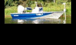 2007- Blue Wave- 190 Super Tunnel- Bay Boat