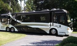 2007 Country Coach Intrigue 45' w/4 Slide-Outs