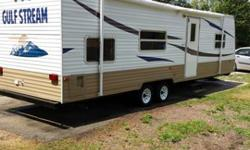 2007 gulf stream travel trailer 32ft long self contained