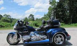 2007 Honda Goldwing Gl1800 Roadsmith Trike