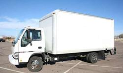 2007 ISUZU NPR HD 16ft. BOX TRUCK