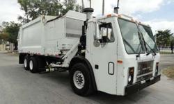 2007 Mack LE613 Heil 33 Yards Side Loader Refuse Garbage