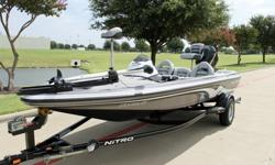 2007 Nitro 482 SC with 2007 Mercury 90 Hp Engine and 2007