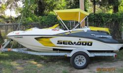 2007 Sea Doo Speedster 150 Jet Boat 155HP w/ Trailer &