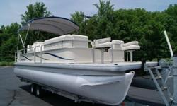 2007 Sweetwater 2486 Tuscany 24ft Pontoonw/Trailer