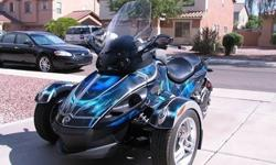 2008 Can-Am Spyder BLUE for