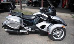 ?2008 CAN-AM?SPYDER SE5 green?