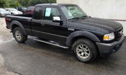 "2008 Ford Ranger 4WD 4dr SuperCab 126"" FX4 Off-Rd"