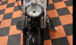 2008 Harley-Davidson Black Fat Boy FLSTF