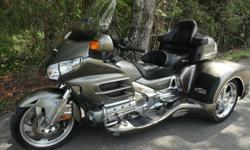2008 Honda Goldwing Gl 1800 Trike