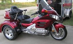 2008 Honda Goldwing Trike (with New Motor Trike Kit) w/ IRS