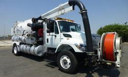 2008 International 7400 Vactor 2100 Series Vacuum Truck