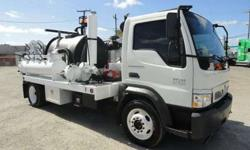 2008 International CF600 Pipehunter Sewer Jetter 500 Gallons