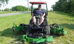 2008 John Deere 1600 57hp Turbo Diesel Wide Area Mower
