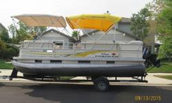 """2008 Sun Tracker Party Barge 21?"
