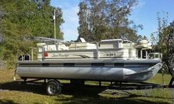 �2008 Sun Tracker Pontoon Boat�