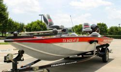 2008 Tracker 175 Pro Team Txw Crappie Mercury 60 Hp