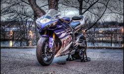 2008 Yamaha R1 Fiat Rossi Limited Edition