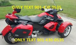 2009 Can am Spyder Rs Se5. Automatic