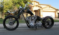 2009 Custom Built Motorcycles Chopper WEST COAST
