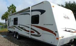 2009 Fleetwood Backpack 280RLSS 30 Ft Travel Trailer