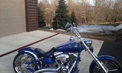 2009 Harley Davidson Rocker C in Mint cond with 2,300 miles
