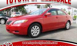 2009 Toyota Camry Hybrid W/LEATHER