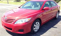2009 Toyota Camry LE Red 69K