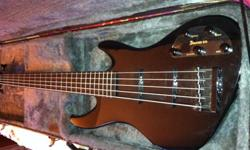$200 5 String and 6 String (fretless) Bass Guitars