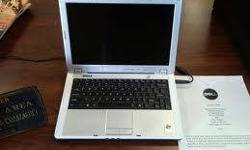 $200 DELL LAPTOP/DVD BURNER/WIRELESS/MEDIA CARD READER &