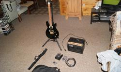 $200 Electric Guitar and Accessories