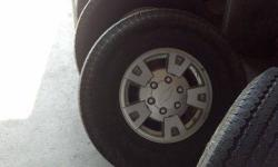 $200 GM / Chevrolet 6 lug Rims and Tires size 265/75/R15