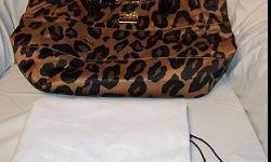 $200 Leopard Print Coach Purse