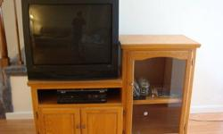 $200 Oak T.V./Entertainment stand