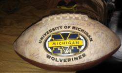 $200 OBO Autographed Football by '02 UofM Football team