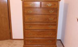$200 OBO Dresser With Mirror and Matching Chest