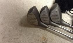 $200 OBO Golf clubs, custom-made mens w/case/carrying bag
