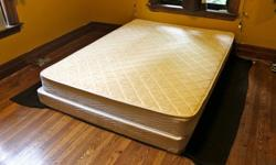 $200 OBO Queen Sized Mattress & Box Spring
