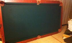 "$200 OBO Sportcraft 90"" Pool Table"