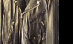 $200 OBO Wilson's Leather Man's Motorcycle Jacket Size Xl