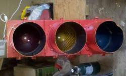 $200 Real working full size retired traffic light