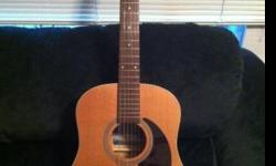 $200 Seagull 12-string acoustic guitar