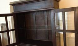 $200 Tall, Rustic Hutch Cabinet for Sale