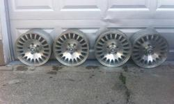 $200 Wheel# A-59725U20, 1999 JAGUAR XJ8 Wheels XJ8 Rims