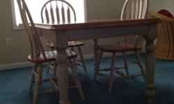 $200 Wooden dining table