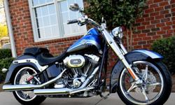 2010 Harley Davidson Screamin Eagle CVO Convertiable SOFTAIL